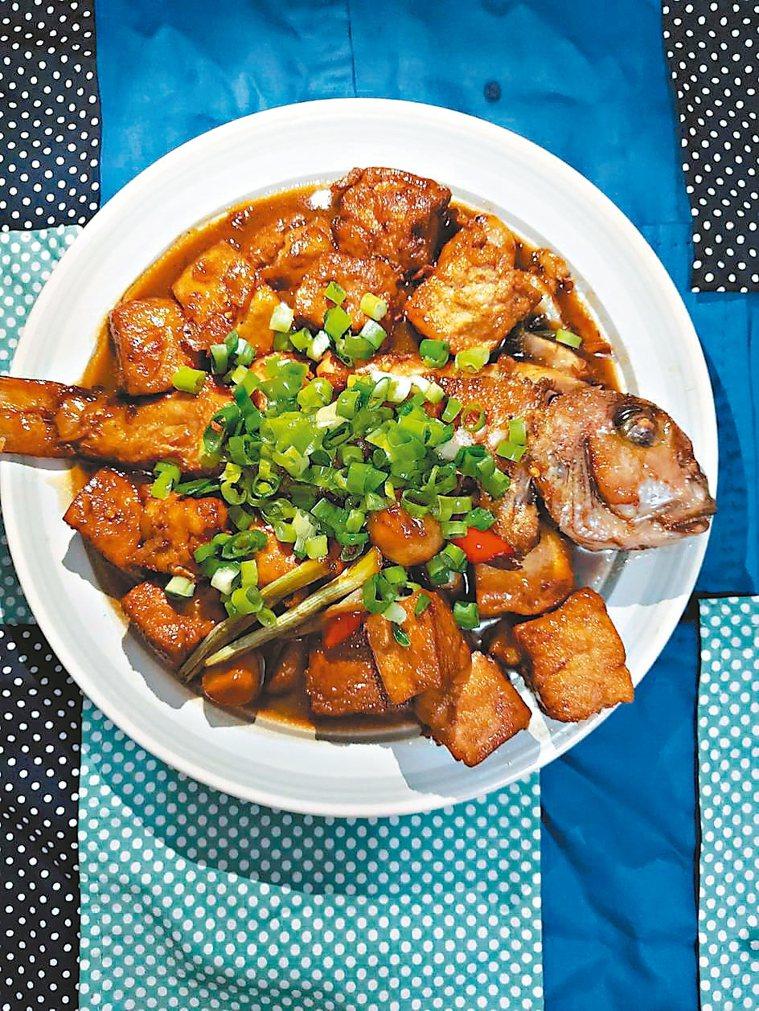 馬頭魚燒豆腐 圖/劉玉華提供