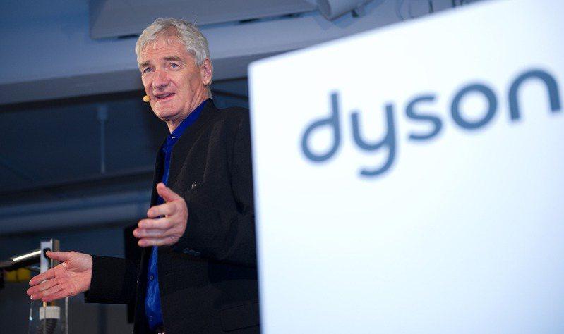 圖為發明無集塵袋吸塵器的英國工業設計師戴森。 歐新社