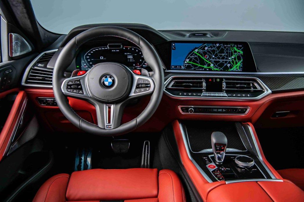BMW全數位虛擬座艙結合12.3吋虛擬數位儀錶與12.3吋中控觸控螢幕,帶給駕駛...