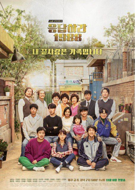 請回答1988。圖/摘自tvN
