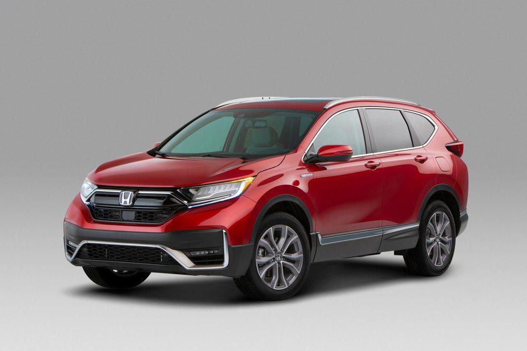 Honda CR-V將力保國產休旅銷售冠軍位置。 圖/Honda提供