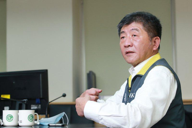 中央流行疫情指揮中心指揮官陳時中。記者許正宏/攝影