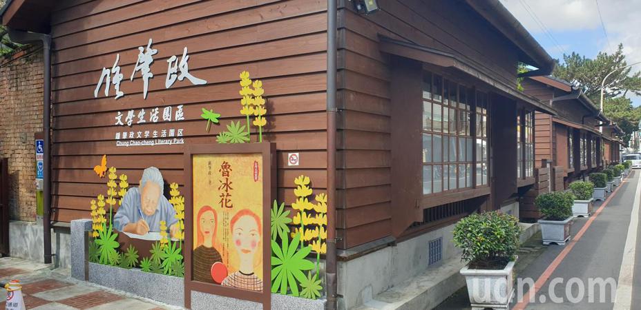 钟肇政文学生活园区在龙潭国小边,去年启用。记者郑国梁/摄影