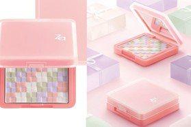 粉紅盒配可愛編織 Za新蜜粉幫你一次搞定4種修飾色