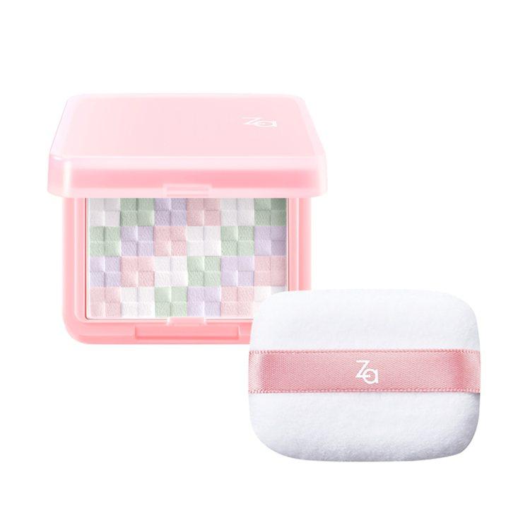 絢色亮顏編織蜜粉餅組,520元。圖/Za提供