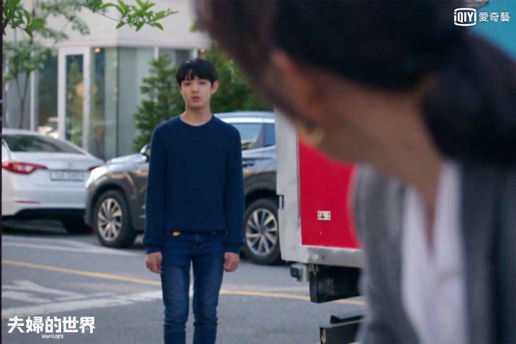 兒子俊英面對父母糾纏大受衝擊。圖/愛奇藝台灣站提供
