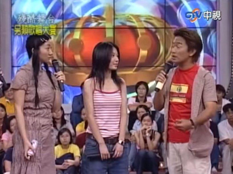 田馥甄(中)上吳宗憲(右)、陶晶瑩主持的節目。圖/摘自臉書