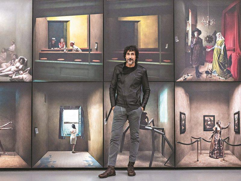 尤傑尼歐於西班牙「365°」展。 圖/聯合數位文創提供