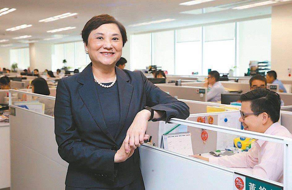 台灣人壽通路一處處長高鶯娟副總經理。 圖/高鶯娟提供