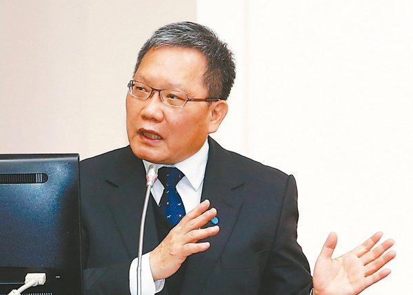 財政部長蘇建榮 (本報系資料庫)
