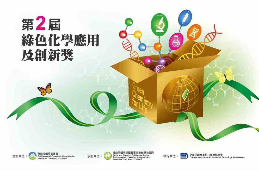 第2屆「綠色化學應用及創新獎」即日起至8月14日接受報名。 產科會/提供