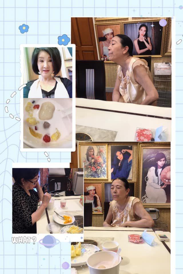 恬娃與許純美、陳淑芳喝下午茶。 圖/擷自恬娃臉書