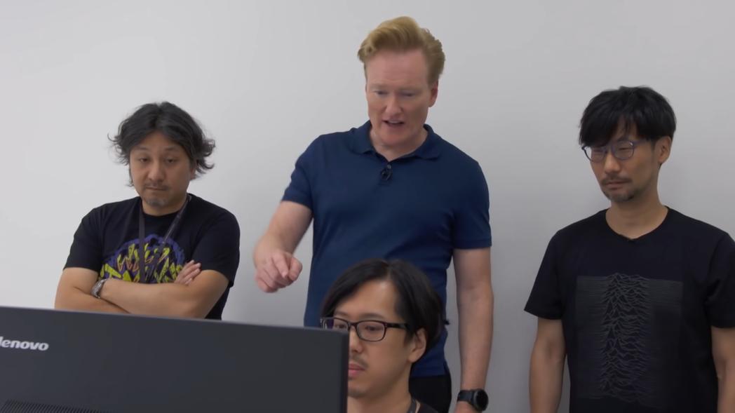 左為今泉健一郎,右為小島秀夫。圖片來源自Youtube