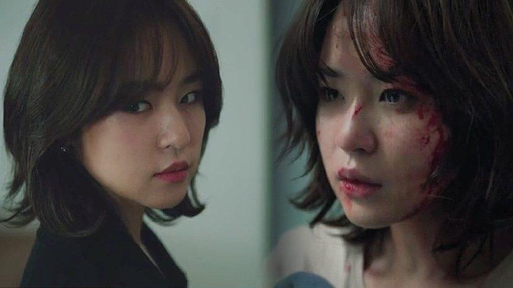 女星沈恩宇在話題韓劇「夫婦的世界」中飾演「閔賢書」。圖/擷自JTBC