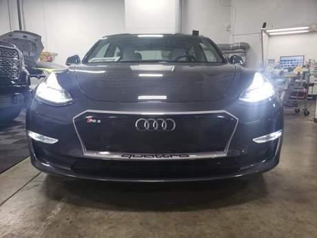 人在曹營心在漢?Tesla Model 3竟魔改為BMW和Audi!
