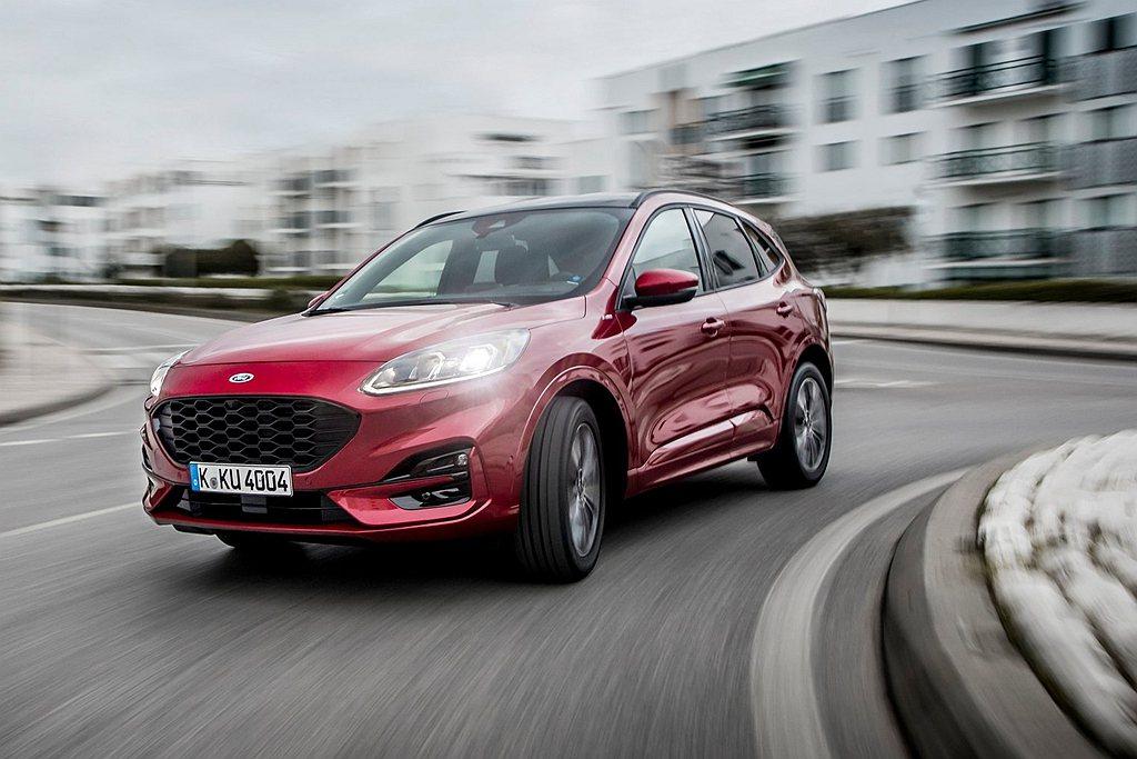 大改款Ford Kuga將有兩動力、五車型的銷售編成,1.5L EcoBoost...