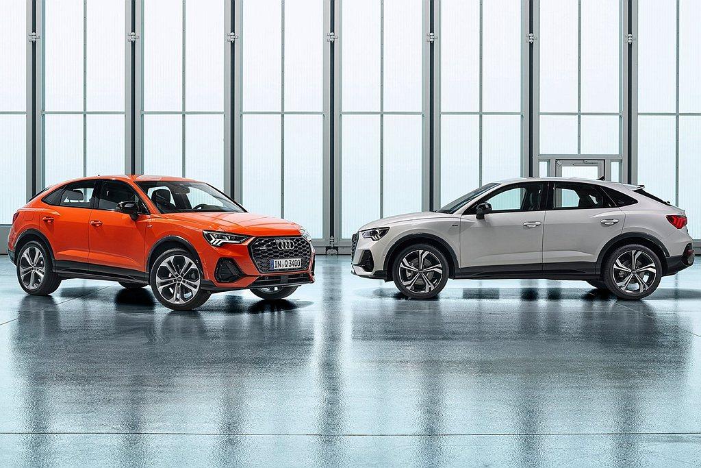 大改款Audi Q3運動休旅車有望一次發表標準與Sportback兩種車型,動力...