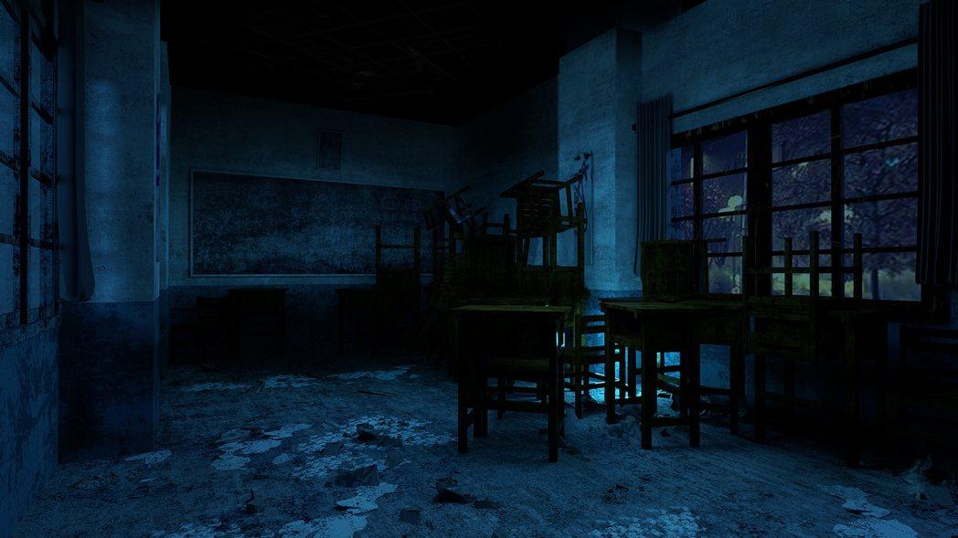颱風天的教室(照片來源/聯合數位文創 提供)