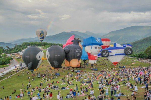 熱氣球空中導覽。 圖/熱血旅行攝影作品/Allen Lin