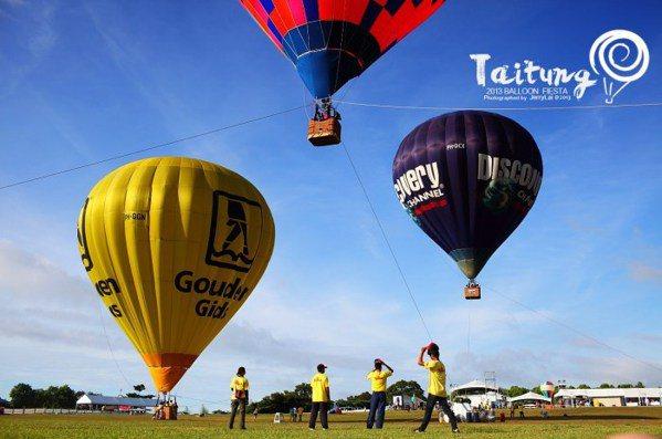 熱氣球競賽。 圖/Flickr