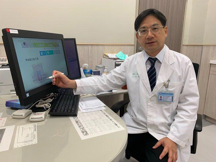 林信宏指出,血中鉀離子過低會引起人體肌肉無力或心律不整。圖/中國醫藥大學新竹附設...