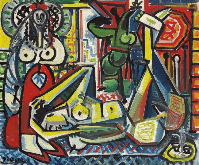 佳士得「ONE:現當代全球聯合夜拍」紐約場推出的畢卡索《阿爾及爾的女人(F 版)...