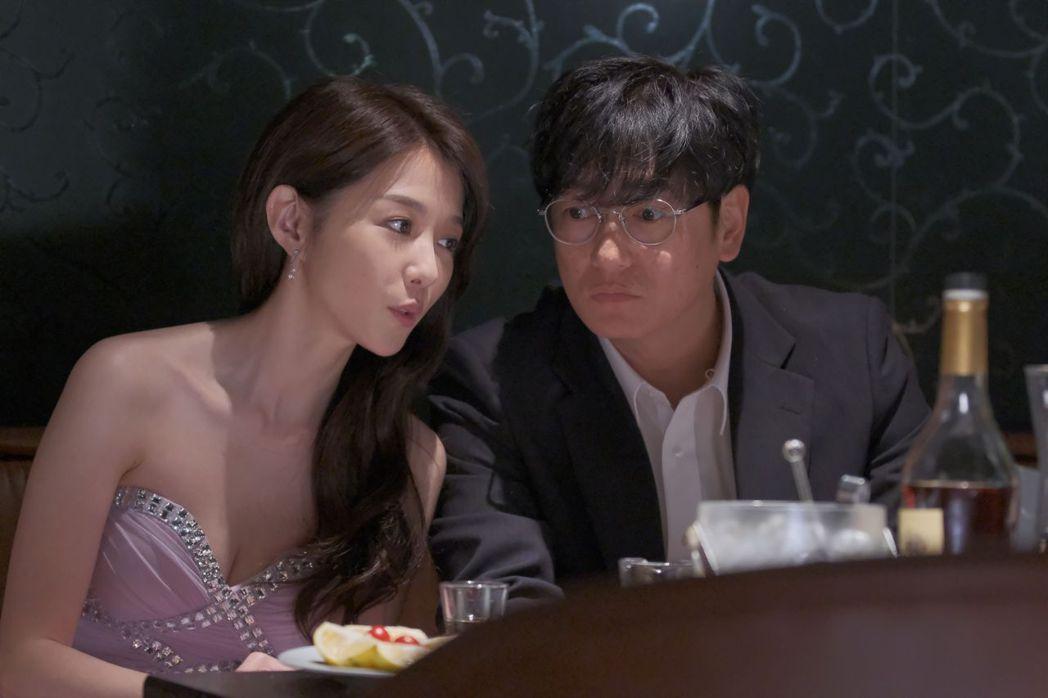 井浦新(右)與邵雨薇在「路~台灣Express~」中對戲。圖/公視提供  ※ 提