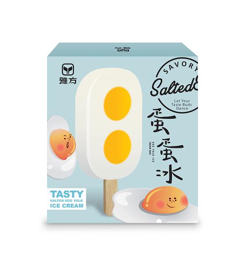 雅方蛋蛋冰(75g×4入),建議售價95元,即起至5月底特價79元。圖/全聯福利...