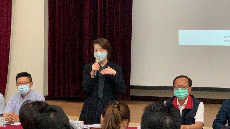 台北市副市長黃珊珊說,業者最快本周復業。記者蕭雅娟/攝影
