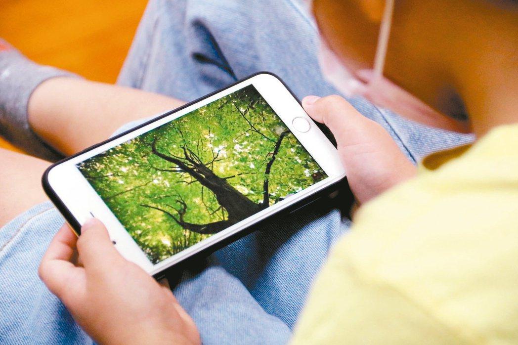 弘光科大學生調查75%家長讓幼兒看YouTube,其中有不良影響。 圖/弘光科大...