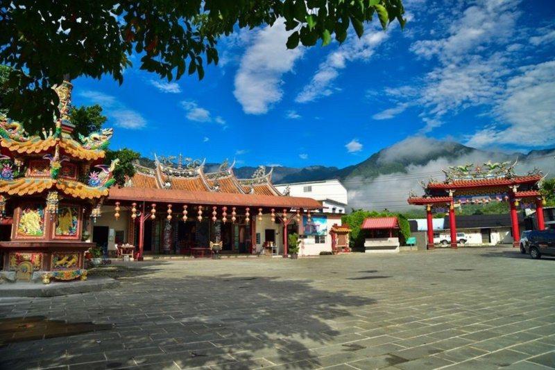 花蓮縣瑞穗鄉富源村的富源保安宮,是花蓮最早的城隍廟。 圖/王燕華 翻攝