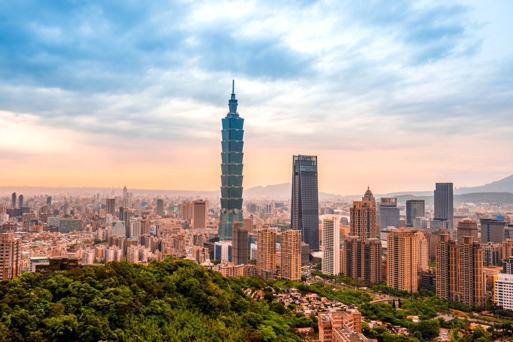 臺北市景色。 圖/ingimage