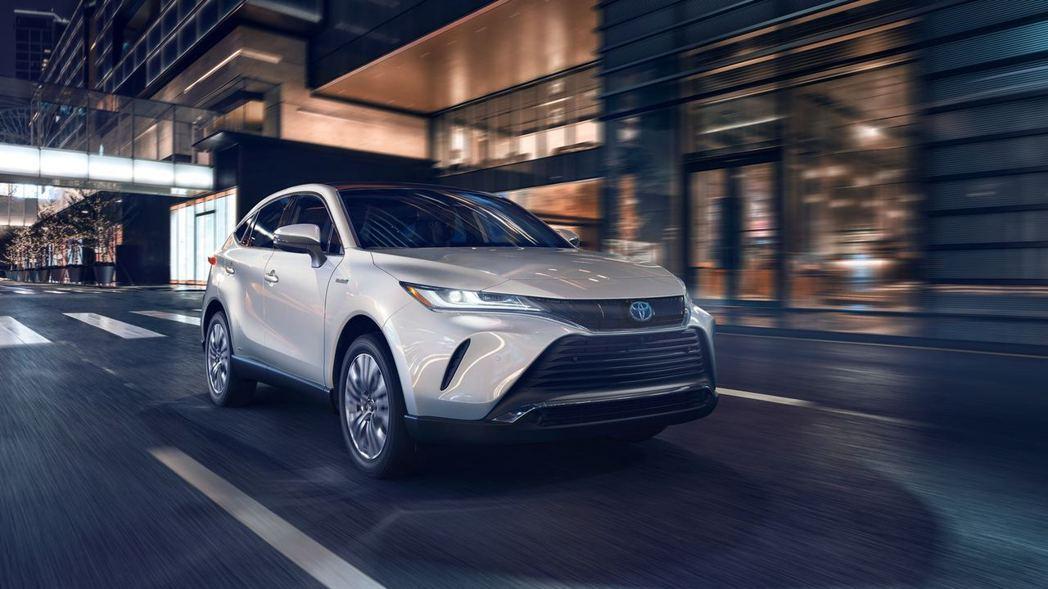 全新Toyota Venza Crossover重磅返回北美市場。 摘自Toyo...