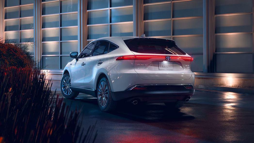 全新美規Toyota Venza Crossover正式亮相。 摘自Toyota