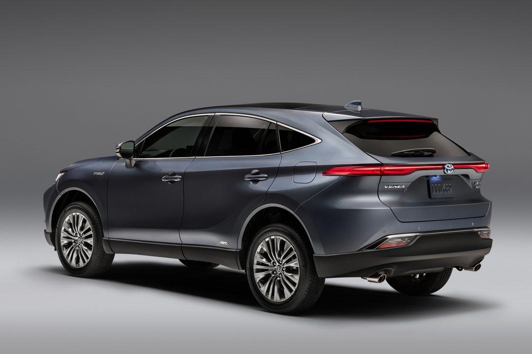 全新Toyota Venza Crossover將在今年夏季於北美市場正式發售。...