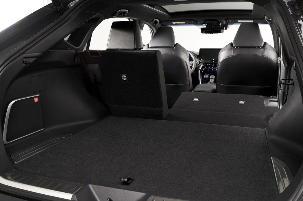 全新Toyota Venza後座提供60/40分離功能。 摘自Toyota