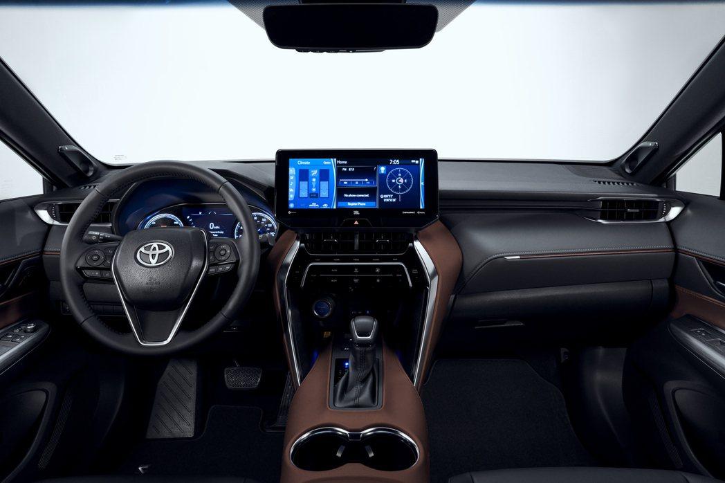 全新Toyota Venza內裝。