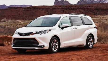 大改款Toyota Sienna正式亮相 新世代全數換裝Hybrid動力!