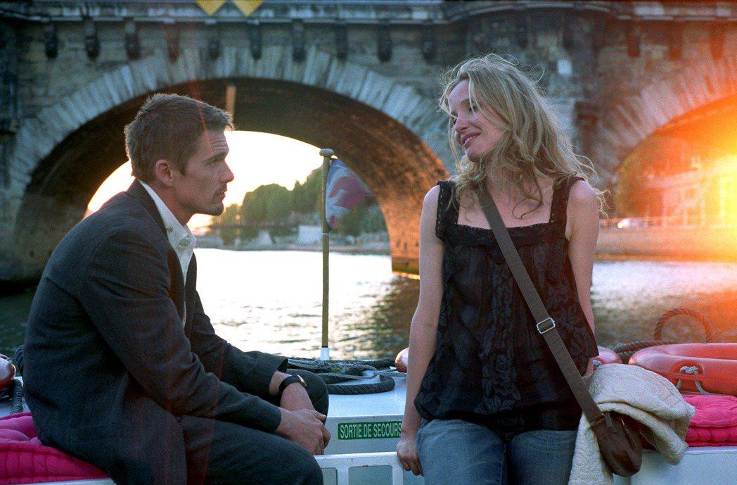 《愛在日落巴黎時》用「時間」的悵然考驗角色決心。 圖/Twitter
