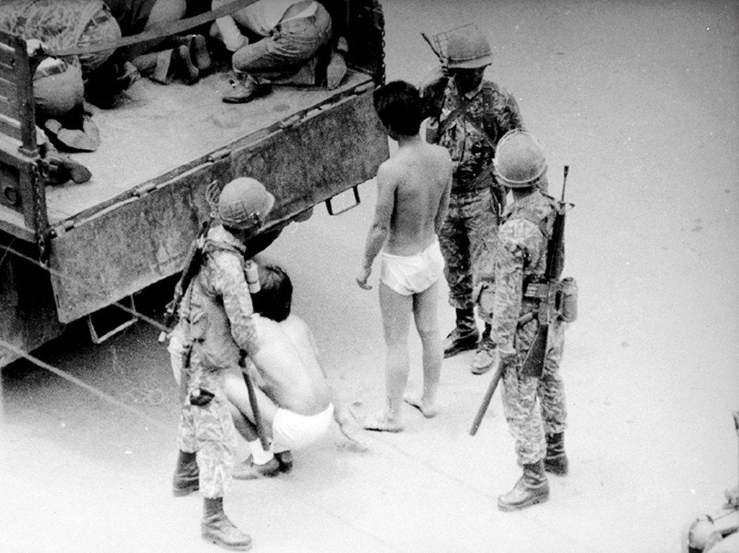 光州事件許多示威者遭到關押、刑求與審判。 圖/南韓國家檔案局