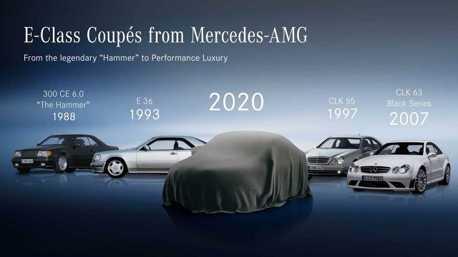 賓士預告小改款E-Class Coupe、Convertible 5月27日發表!