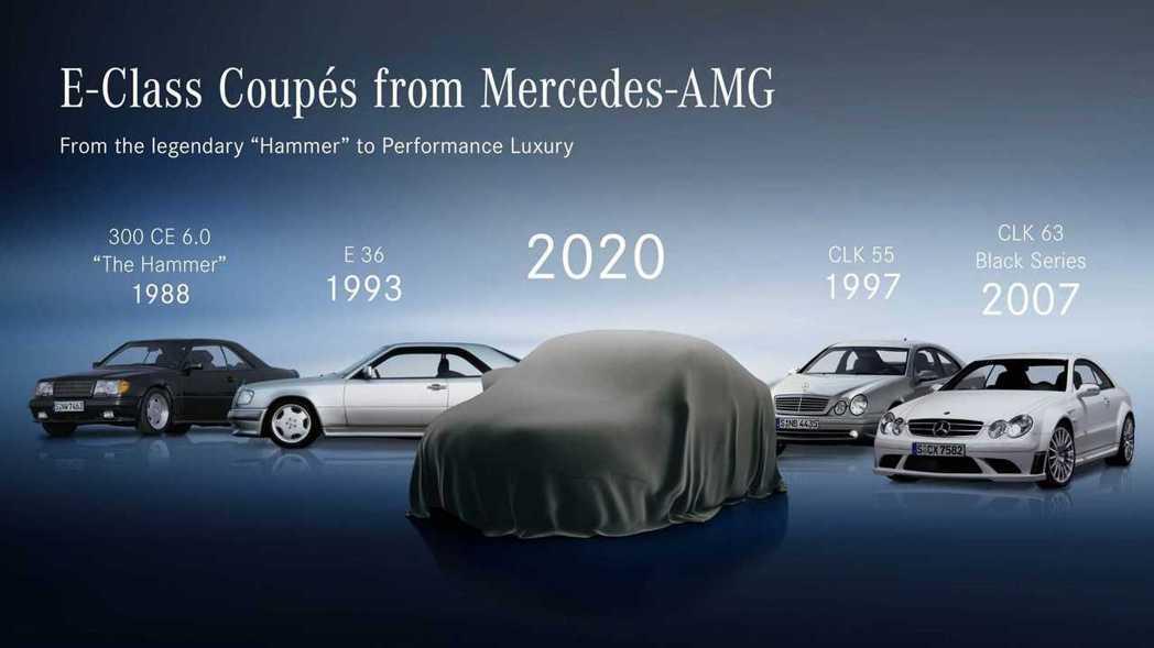 歷代E-Class Coupe進化史,在C207那一代前稱為CLK-Class。...