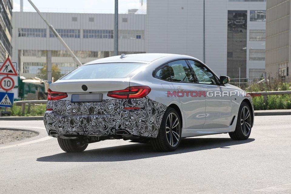 小改款BMW 6 Series GT也將隨著5 Series LCI一同在韓國首...