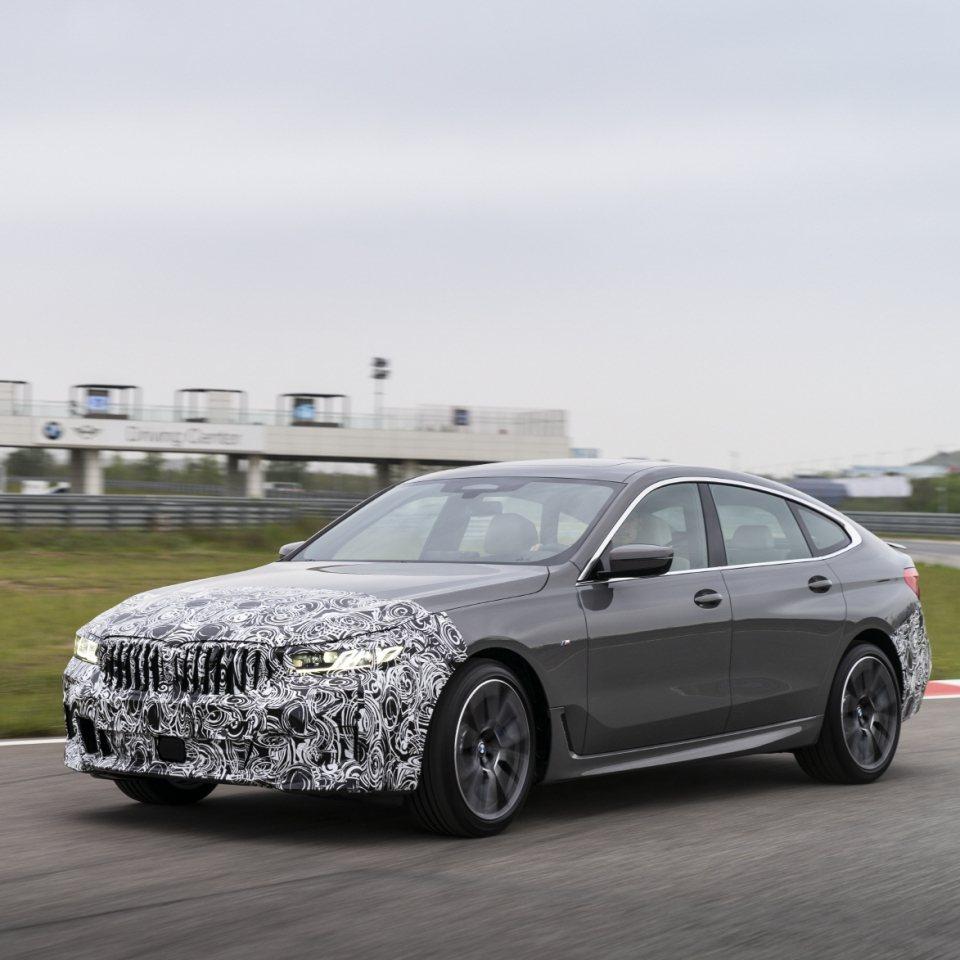 小改款BMW 6 Series GT輕度偽裝車。 摘自Motorgraph.co...
