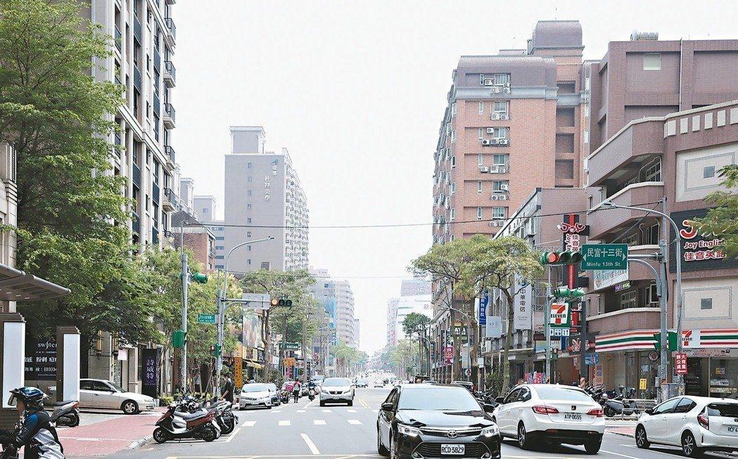 一名網友發問「台北跟桃園的生活品質差很多嗎?」圖/聯合報系資料照片