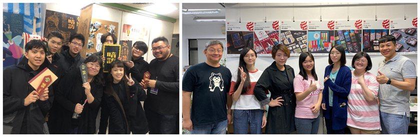 中國科大視傳系「暗訪」團隊成員(左圖)包括雷凱翔、賴品智、史承平、鄭亞珉、洪詩堯...