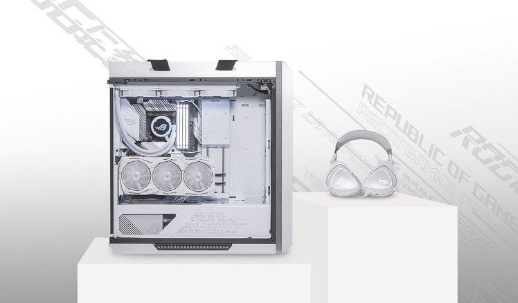 榮獲2019德國紅點設計大獎的ROG Strix Helios旗艦級中塔式電競機...