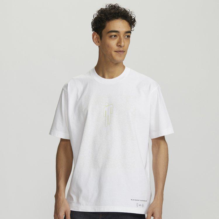 UNIQLO村上隆與怪奇比莉聯名UT系列男裝T恤590元。圖/UNIQLO提供