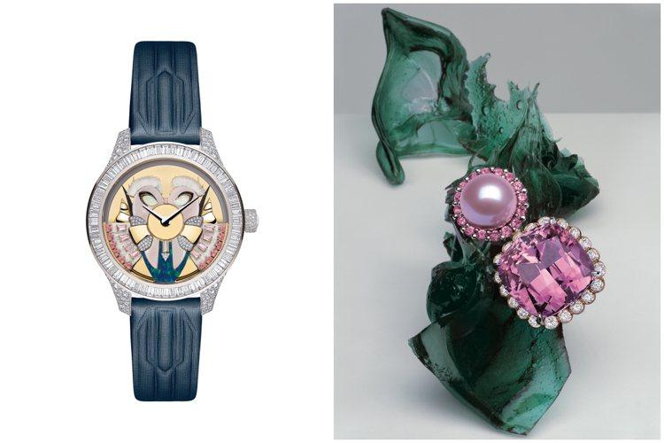 Dior et Moi高級珠寶暨腕表展帶來總價逾11億元的華麗之作,將於5月21...