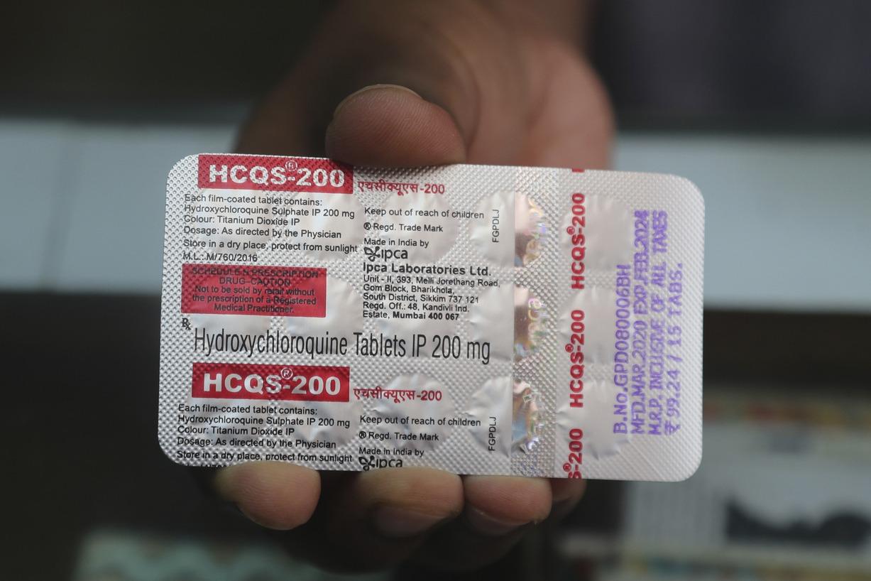 研究:羥氯奎寧治新冠肺炎無益 反提高死亡風險